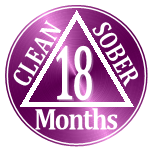 1 year clean and sober