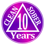 9 years clean and sober