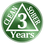 2 years clean and sober