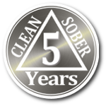 4 years clean and sober