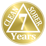 6 years clean and sober