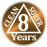 7 years clean and sober