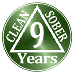 8 years clean and sober
